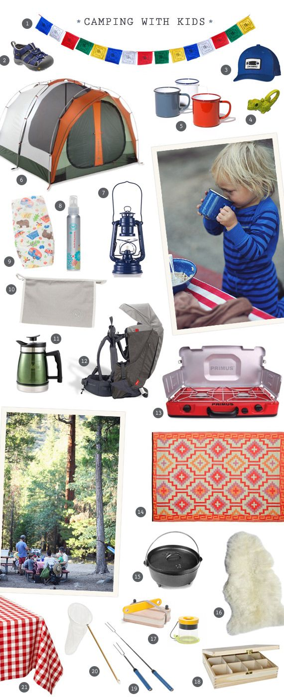 Our favorite gear for camping with kids