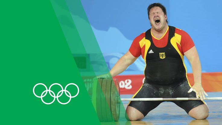 AMAZING !!! :-O Matthias Steiner on his emotional Beijing 2008 Weightlifting…
