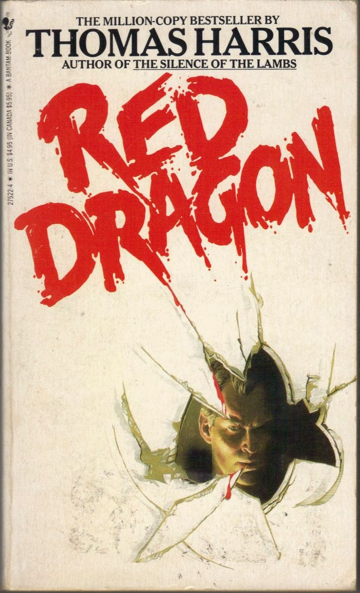 Bantam Book movie    Too Much Horror Fiction: Red Dragon by Thomas Harris (1981): Terror ...