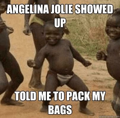 Oh, Angelina Jolie lol: Happy Dance, Let Dance, Funny Pics, Success Kids, Angelina Jolie, Funny Stuff, So Funny, Little Boys, Africans Kids