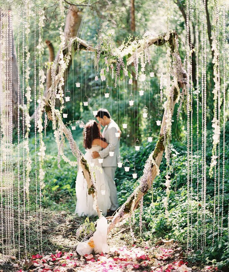 Like a heaven. Photography by santa barbara wedding photographer: Caroline Tran. Tricia Fountaine Design