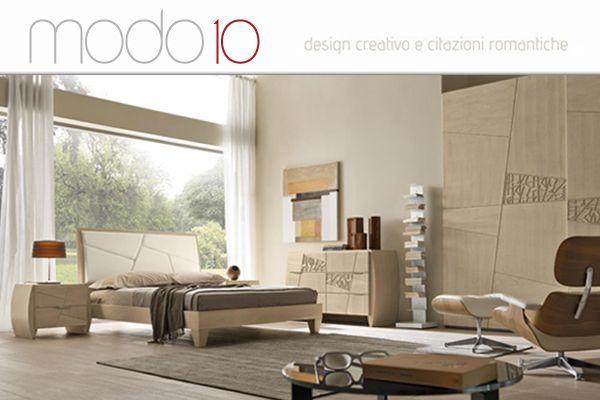 Un'altra grande azienda entra a far parte dei nostri Partner. Tante soluzioni per arredare la vostra camera da letto o il vostro soggiorno con prodotti dal design attuale e di grande qualità garantiti da un marchio 100% made in Italy ed interamente in legno. Vienite a vedere i prodotti modo10 nella nostra esposizione.