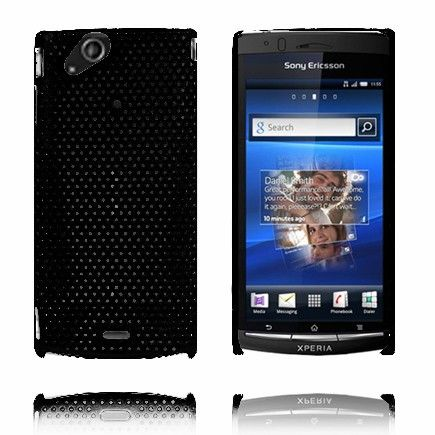 Atomic (Sort) Sony Ericsson Xperia Arc Deksel
