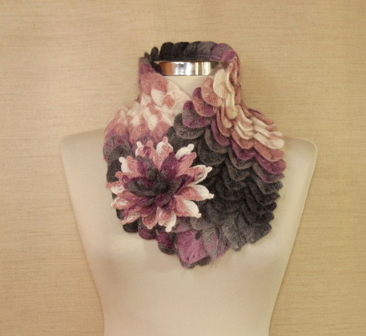 Have Some Fun / Crochet Scarf Wrap Infinity Cowl by lilithist