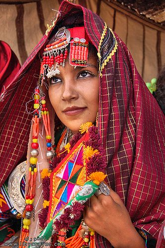 Libya lady - faces of the people …