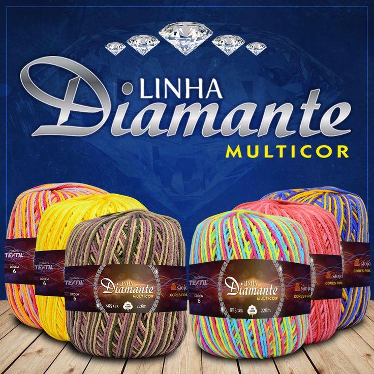 Nova linha Diamante Multicor!