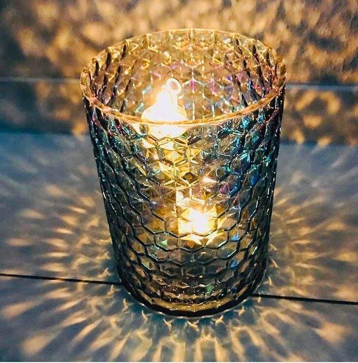 Shimmering Facet Hurricane In 2020 Party Lite Candles Candle S Partylite