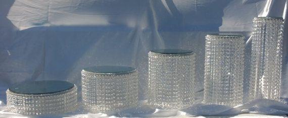 Gâteau de cristal trouve 1 2 3 4-5 ou 6 niveaux en cristal by CrystalWeddingUK | Etsy