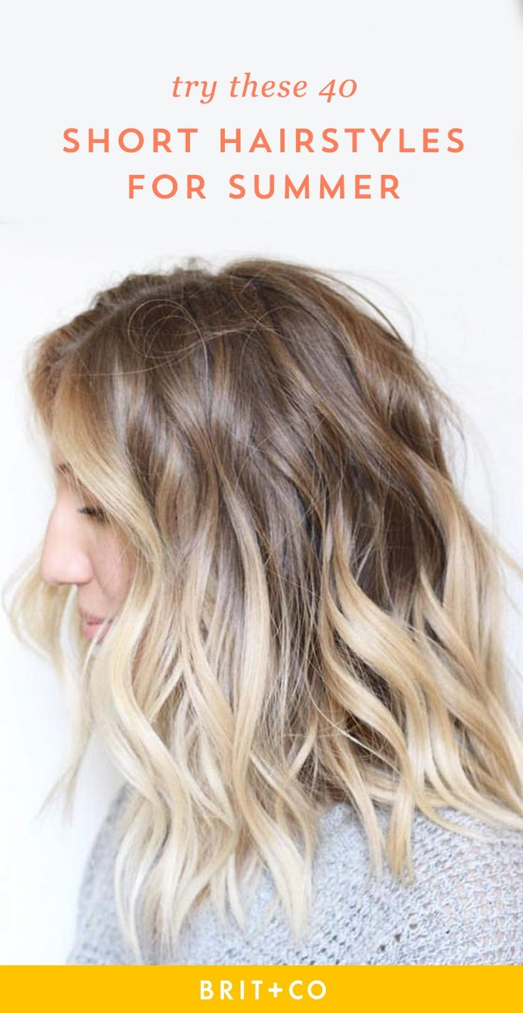 Loving these 40 stylish short hairstyles perfect for summer.