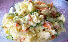 Salada japonesa de batata