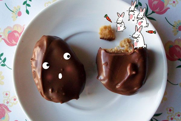 Chocolate Peanut Butter Eggs for Peanut Butter and Co.