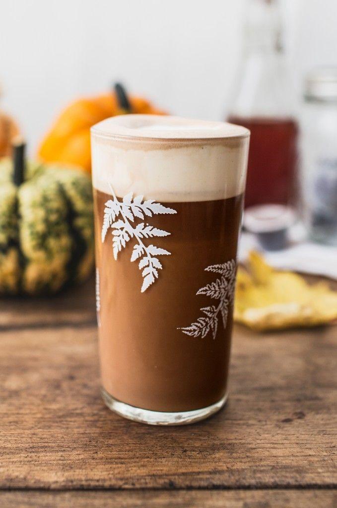 Homemade spiced pumpkin latte #PSL