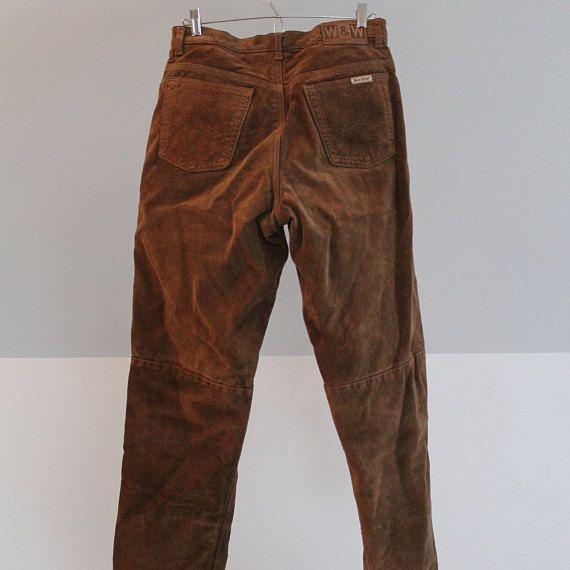 Pantalons de suède, jeans suède, jeans daim, suède lavable, jeans tan, jeans ocre, pantalon hipster, jeans taille haute, 32 homme