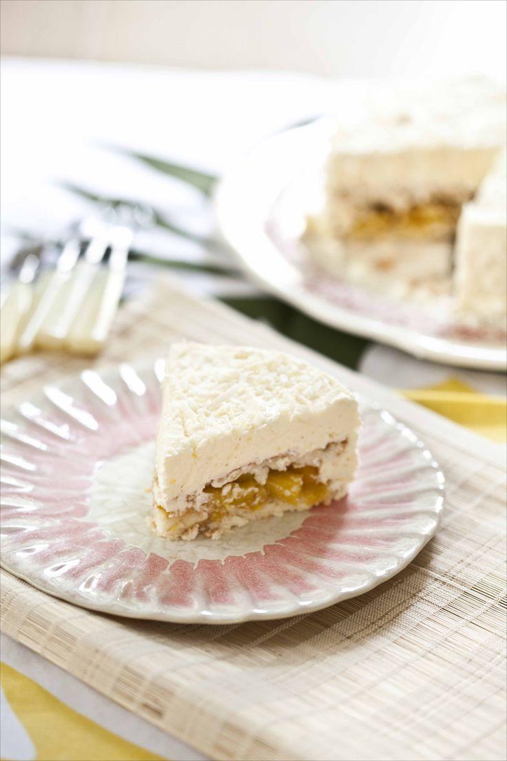 Gâteau mousse à la noix de coco 11