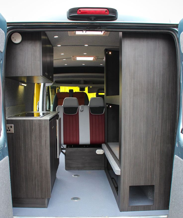 Sprinter Van Bunk Beds >> Double bunk beds with fold out single bed and under storage. | Camping | Pinterest | Double bunk ...