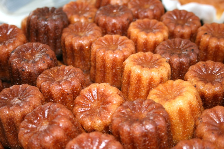 These things are everywhere..'Canele' are a cake with a thin caramelized casing. You simply can't go to Bordeau without tasting one of these.