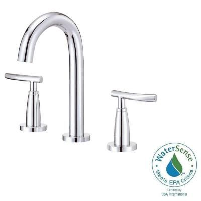 2handle midarc bathroom faucet in chrome