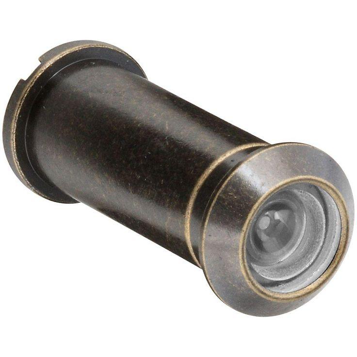 National Hardware N336-073 V802 Door Viewers, Antique Brass