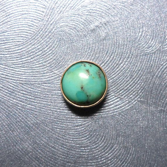 Turquoise Microdermal Jewelry Top by Starseedcharms on Etsy, $13.00