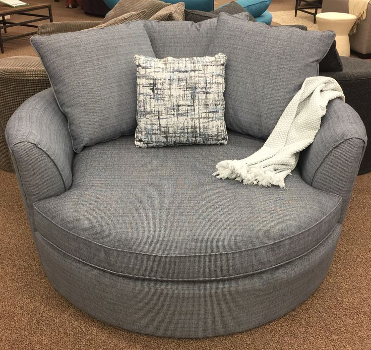 I think I might just curl up in this chair for the day!  Our Nest chair just arrived in this new colour and in looks amazing. It's made right here in Canada and it's only $1099 as shown.  http://www.sofaland.ca/nest ------------------------------------ #SofaLand #Nest #Chair #BigRoundChair #BestChairEver #ThisIsWhereYouWantToSit #MadeInCanada #Fabric #Comfort #FamilyChair #yegFurniture #yycFurniture #Camrose #Furniture #yegInteriorDesign #yycInteriorDesign #InteriorDesign #Decor