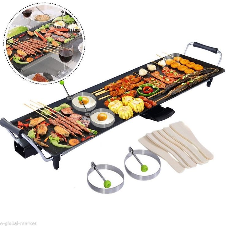 Large electric teppanyaki #table top #griddle caravan grill #cooking barbecue tra, View more on the LINK: http://www.zeppy.io/product/gb/2/151449806400/