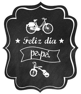 Descargar etiqueta día del padre. Father day tag