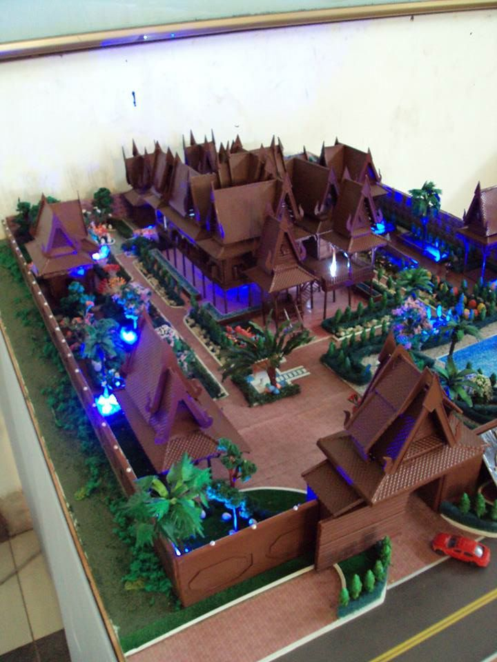Khmer House Architectural Models Pinterest House And
