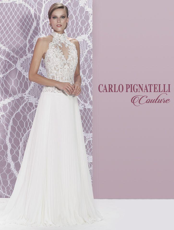 "Model ""Luana"" - Carlo Pignatelli Couture 2015. #carlopignatelli #couture #sposa #bride #weddingdress #bridalgown #weddingday #matrimonio"