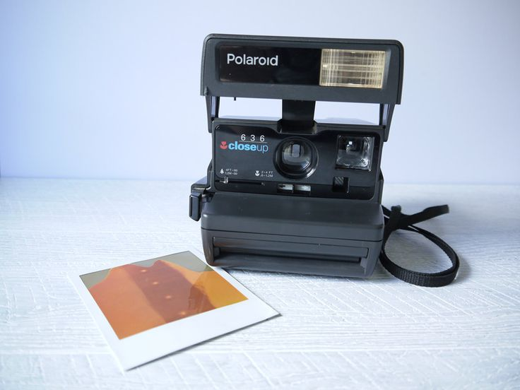 Polaroid 636 Close Up Camera by blackbirdievintage on Etsy