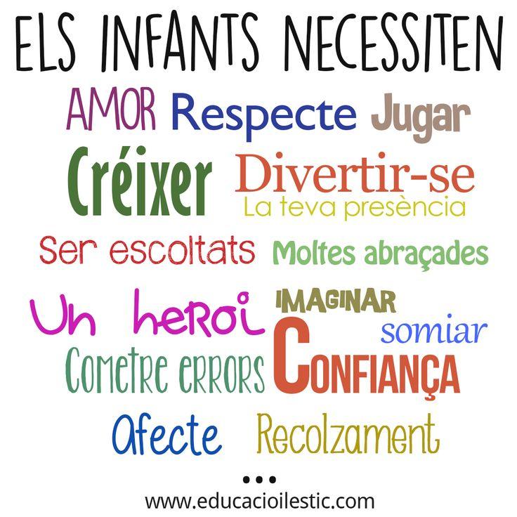 Què necessiten els infants?