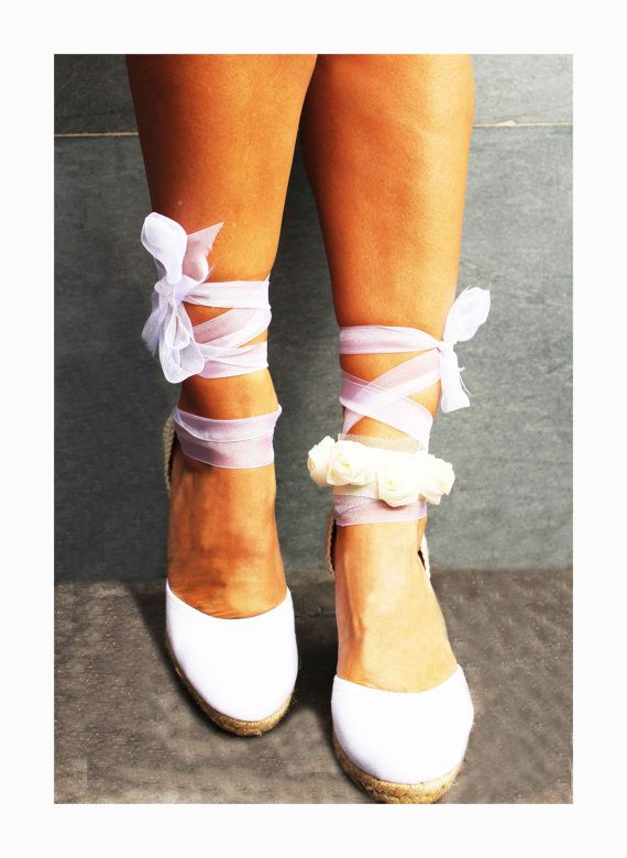 17 Best Ideas About Bridal Wedges On Pinterest