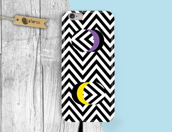Opart Purple Yellow Circle iPhone 7 Case iPhone by KatarsisFactory