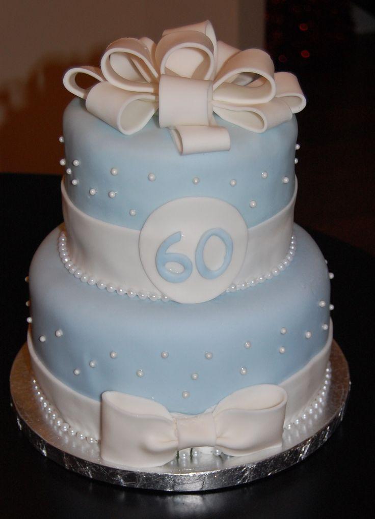 60th Birthday Cake Designs Party Ideas