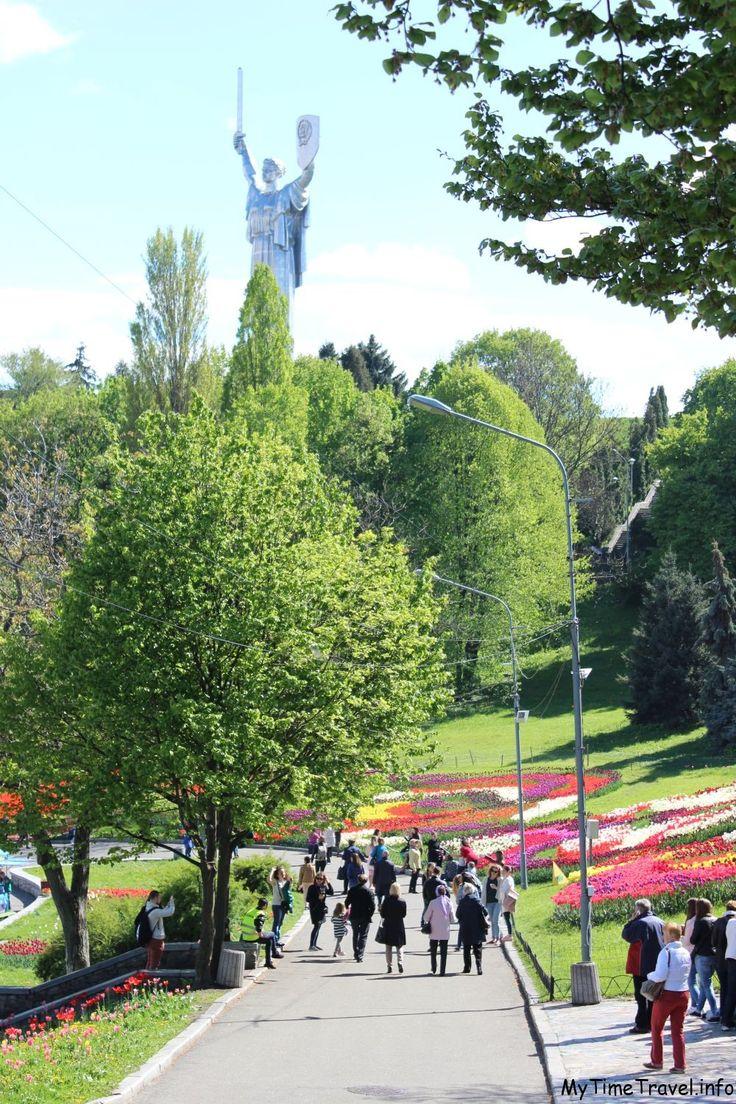 Фестиваль тюльпанов на Печерске