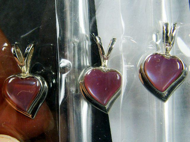 PARCEL 3 SHELL HEART   STERLING PENDANTS  EARRING MYT 600 fashion jewellery