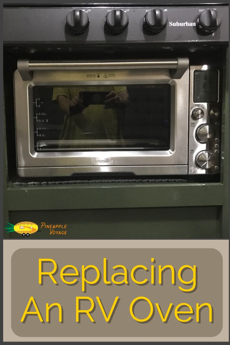 We Replaced The Propane Gas Oven In Our Rv With An Electric Breville Smart