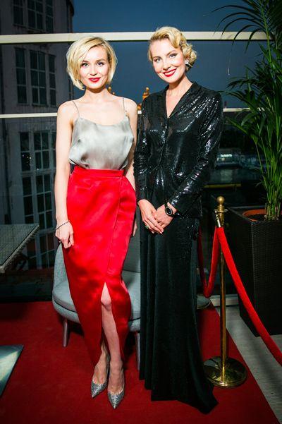 Полина Гагарина и Рената Литвинова