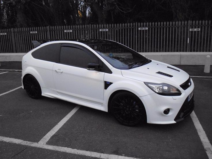 66 best ka images on pinterest ford focus autos and cars ford focus rs mk2 2009 frozen white with sat nav black 12 leather recaro publicscrutiny Images
