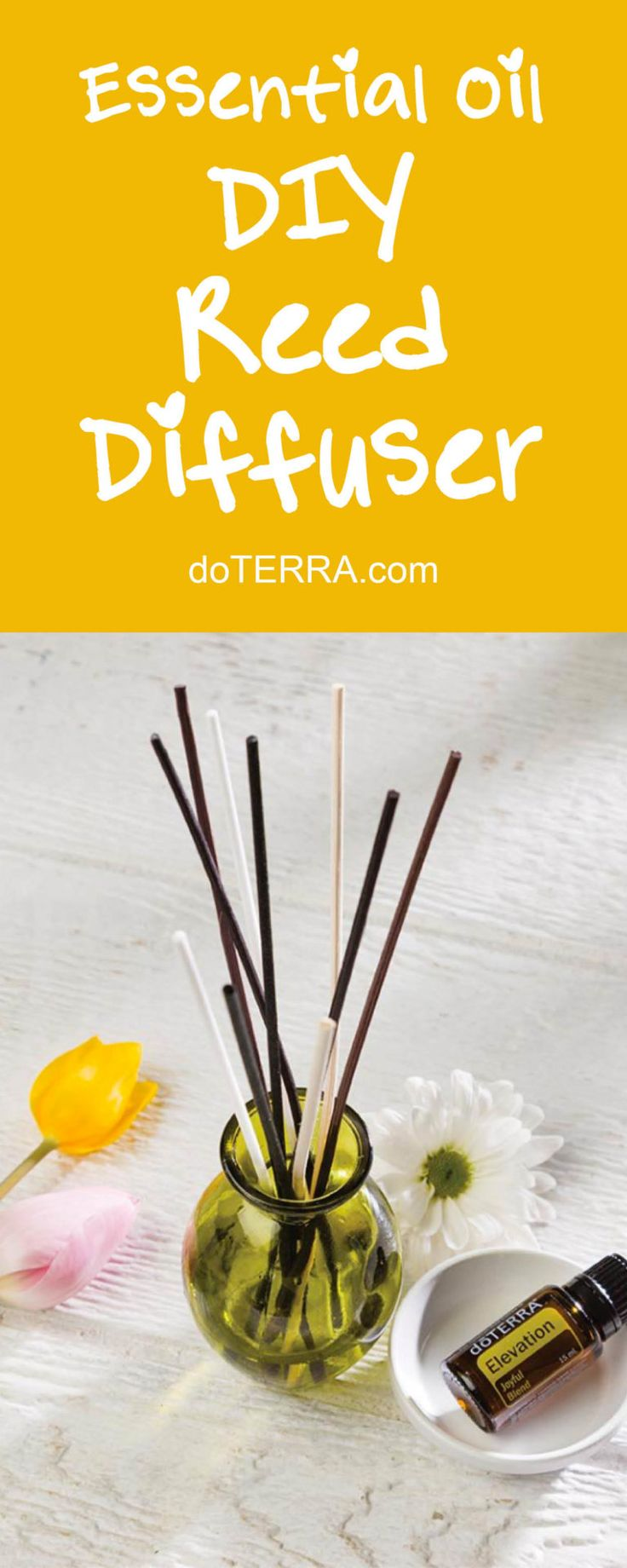 doTERRA Essential Oils DIY Reed Diffuser Recipe