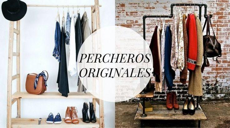 Hoy traemos una selección de percheros originales para guardar la ropa. Estos percheros no se encuentran dentro de armarios, si no que quedan a la vista. Ya