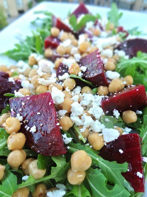 ... Arugula greens (includes instructions for how to roast fresh beets in