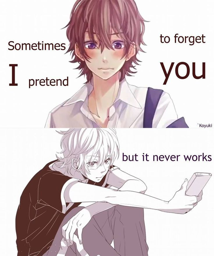 Manga Love Quotes: [Honeywork] Sometimes Trying To Forget Some1 Is Very