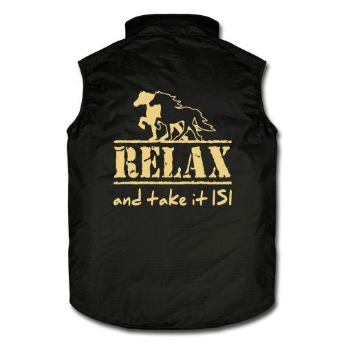RELAX - and take it ISI  #Pferdesachen #Westen #Reiter #Islandpferde #Isländer #Pferde
