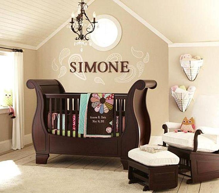love this nurserywall decor baskets chandelier paint colors bead board ceiling