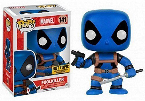 Deadpool Foolkiller #141 Limited Edition Hot Topic exclusive Funko Pop Vinyl