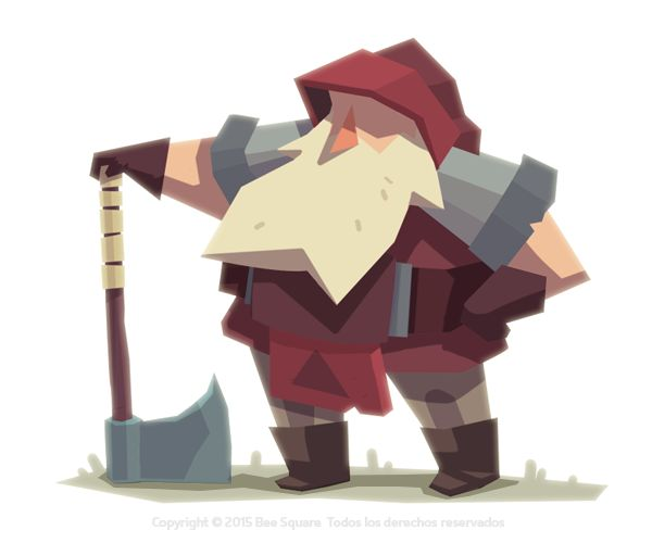 Video game character...