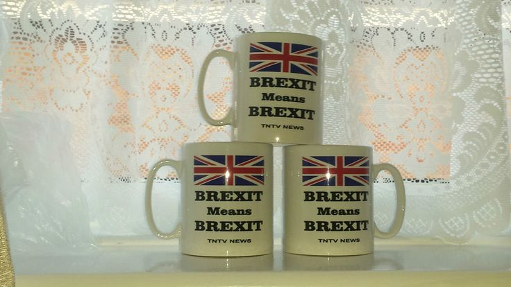 Brexit Mugs - TNTV Products - NEW DESIGN
