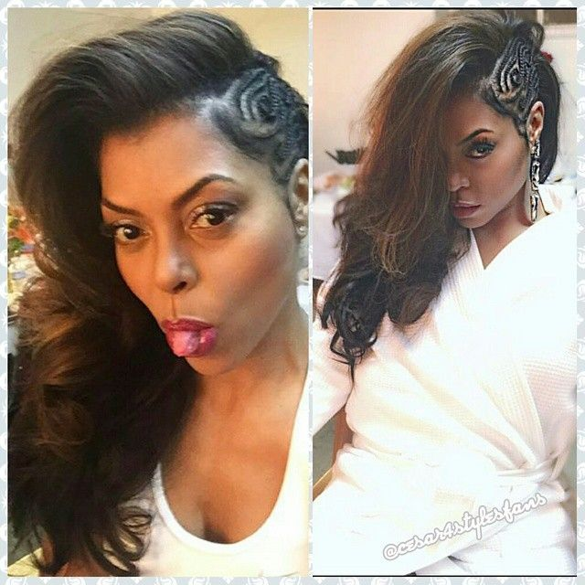 Get The Look: Taraji P. Henson's Side Swept Braid Style