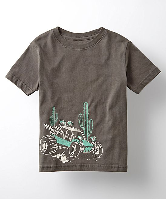 Charcoal Desert Buggy Tee - Toddler & Kids