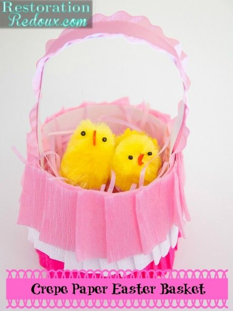 Easter Crafts From Pinterest